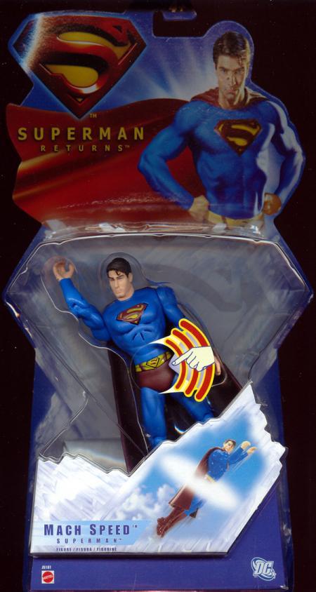 Mach Speed Superman