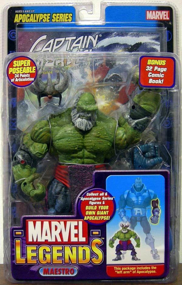 Maestro Action Figure Marvel Legends Apocalypse Series