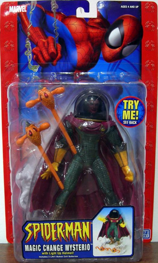Magic Change Mysterio Figure Spider-Man Classic