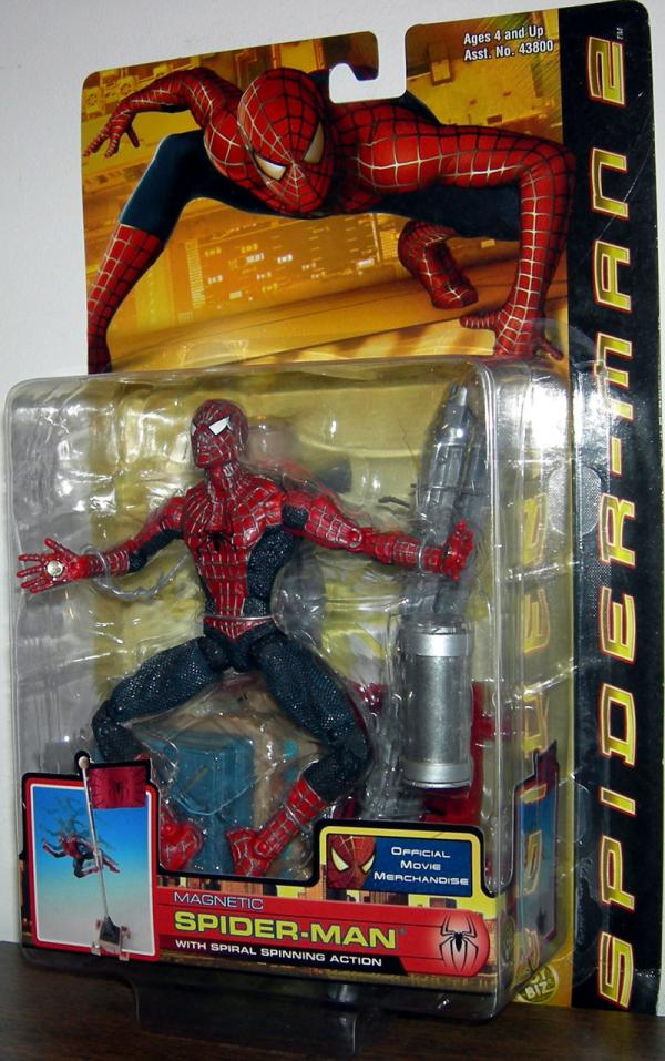 Magnetic Spider-Man Action Figure Spiral Spinning Movie