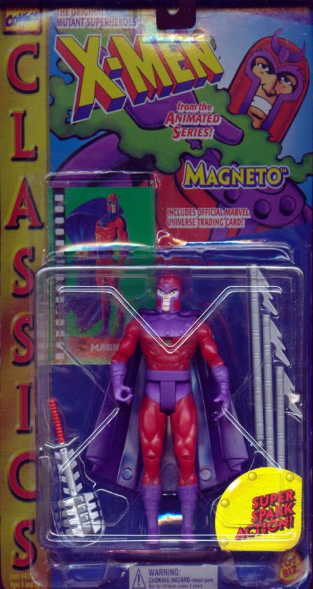 Magneto Figure Classics X-Men Animated Series Toy Biz