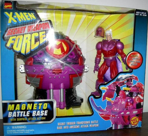 Magneto Battle Base