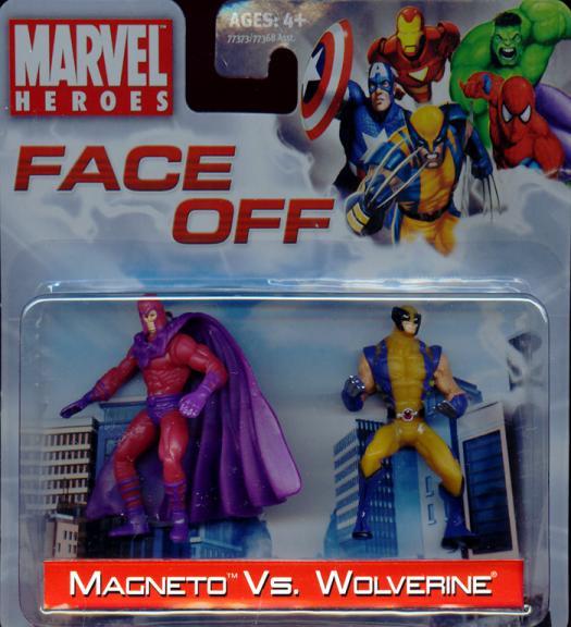 Magneto vs Wolverine Face Off