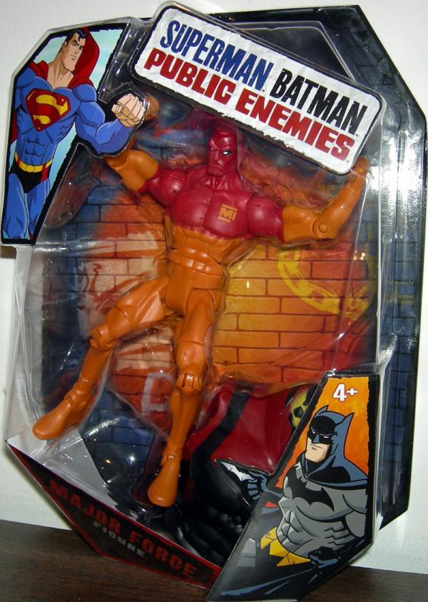 Major Force Superman Batman Public Enemies