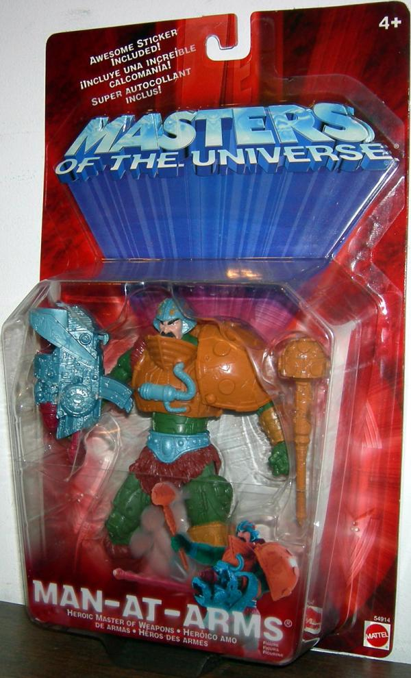 Man-At-Arms Masters Universe He-Man action figure