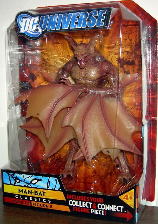 Man-Bat DC Universe Classics Wave 10 Figure 5 action figure