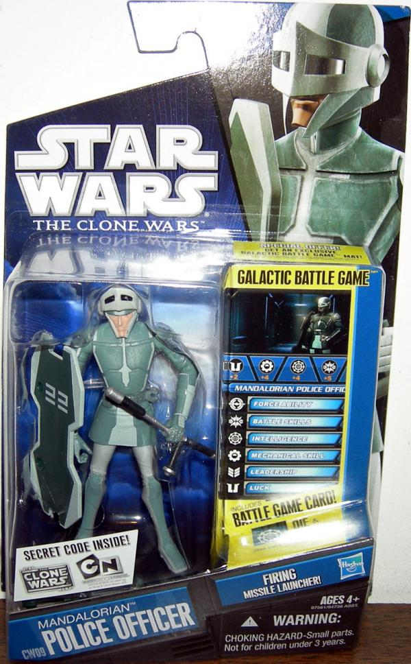 Mandalorian Police Officer CW09 Star Wars action figure