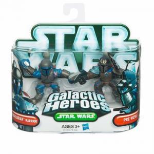 Mandalorian Warrior Pre Vizsla Action Figures Star Wars Galactic Heroes
