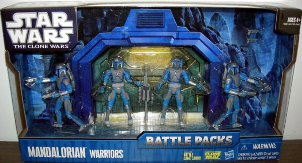 Mandalorian Warriors Figures Battle Packs Star Wars Clone
