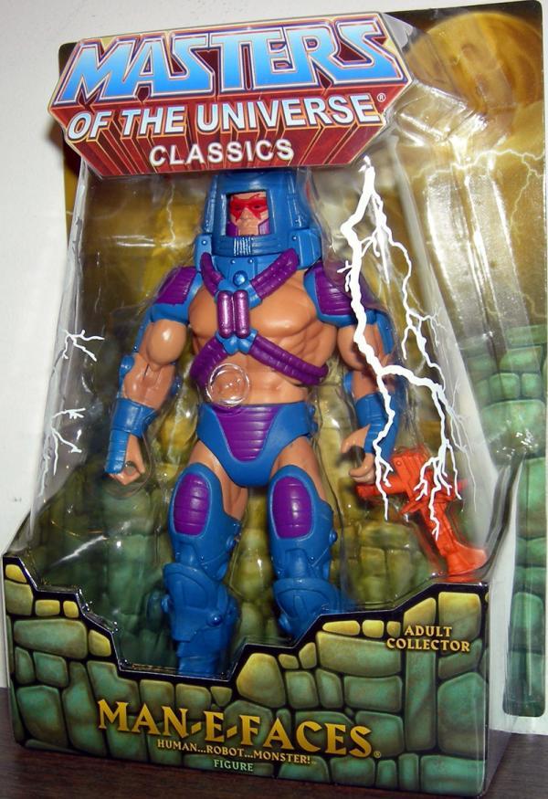 Man-E-Faces Classics Action Figure Masters of the Universe Mattel