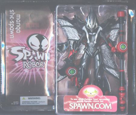 Manga She-Spawn Reborn 2