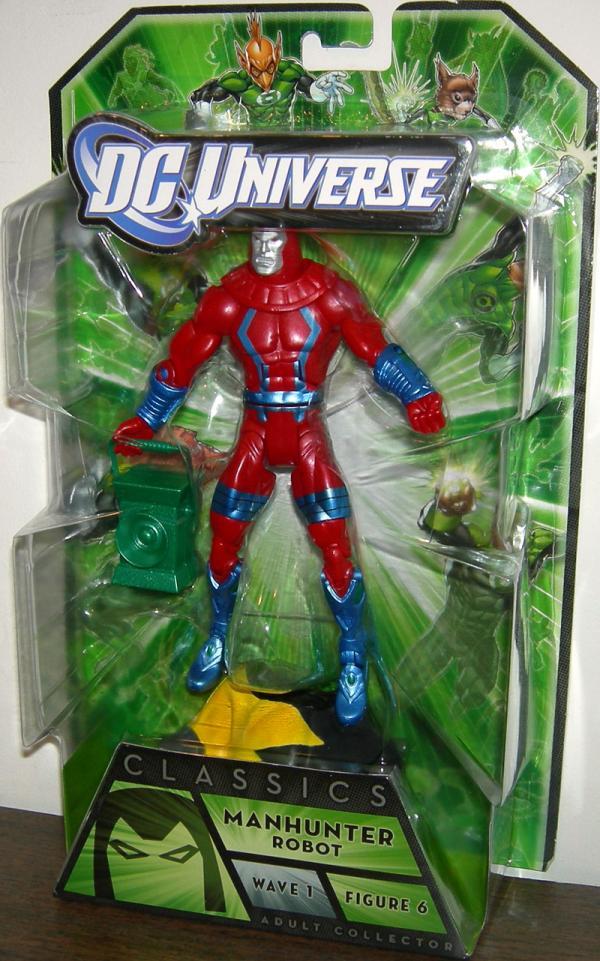 Manhunter Robot Figure DC Universe Classics Arkillo Wave