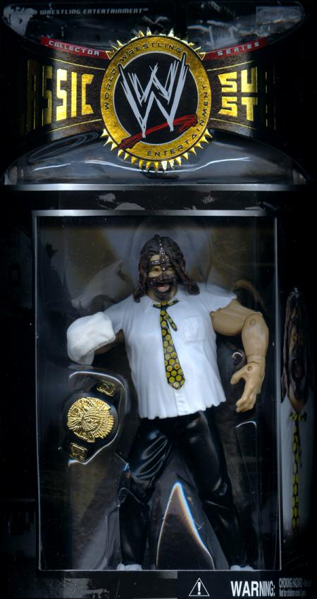 Mankind Figure WWE Classic SuperStars Jakks
