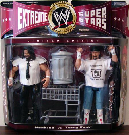 Mankind vs Terry Funk 2-Pack