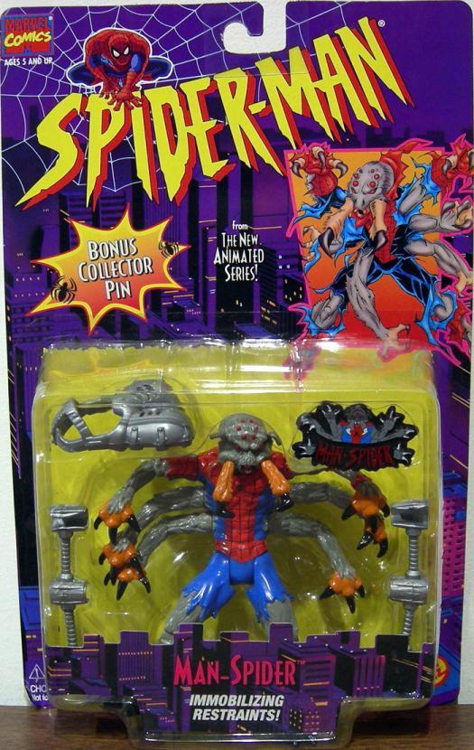 Man-Spider Spider-Man Animated