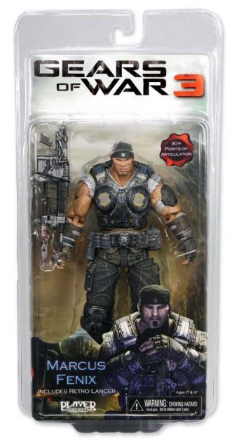 Marcus Fenix Gears War 3 action figure