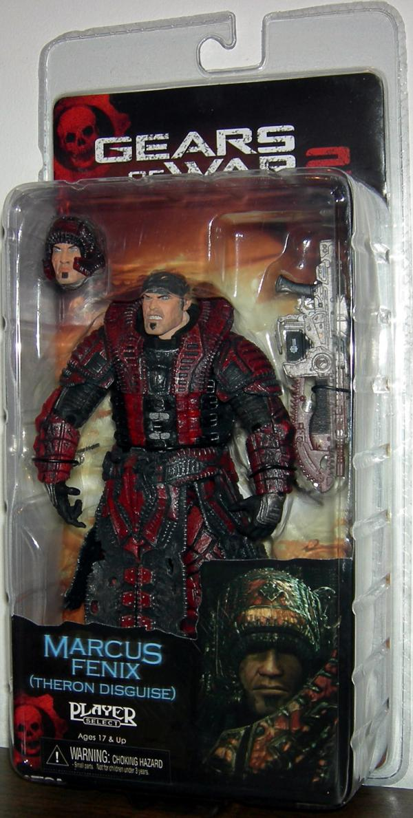 Marcus Fenix Theron Disguise Gears War action figure
