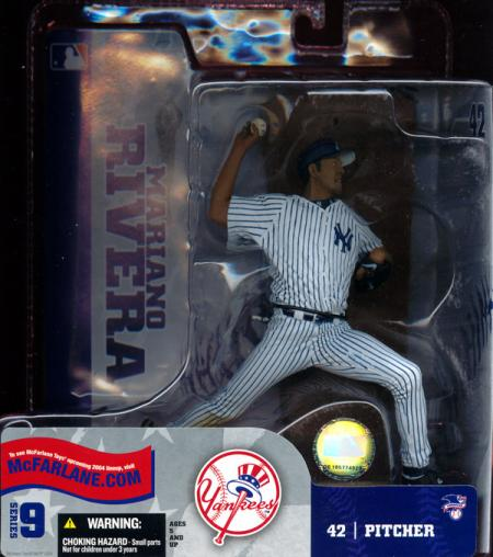 Mariano Rivera pinstriped uniform