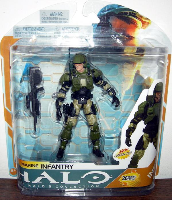 Marine Infantry Halo 3 action figure