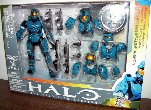 Halo Mark VI Deluxe Armor Pack teal