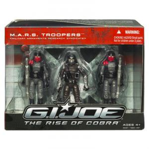 MARS Troopers Rise Cobra action figures
