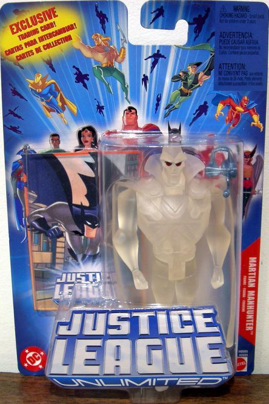 Martian Manhunter Justice League Unlimited