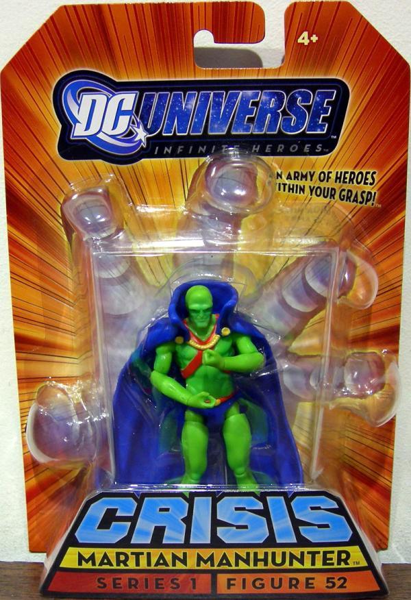 Martian Manhunter Infinite Heroes, figure 52