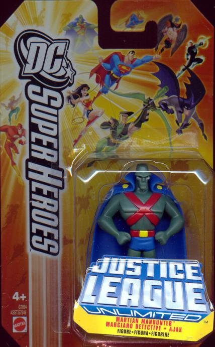 Martian Manhunter DC SuperHeroes die-cast