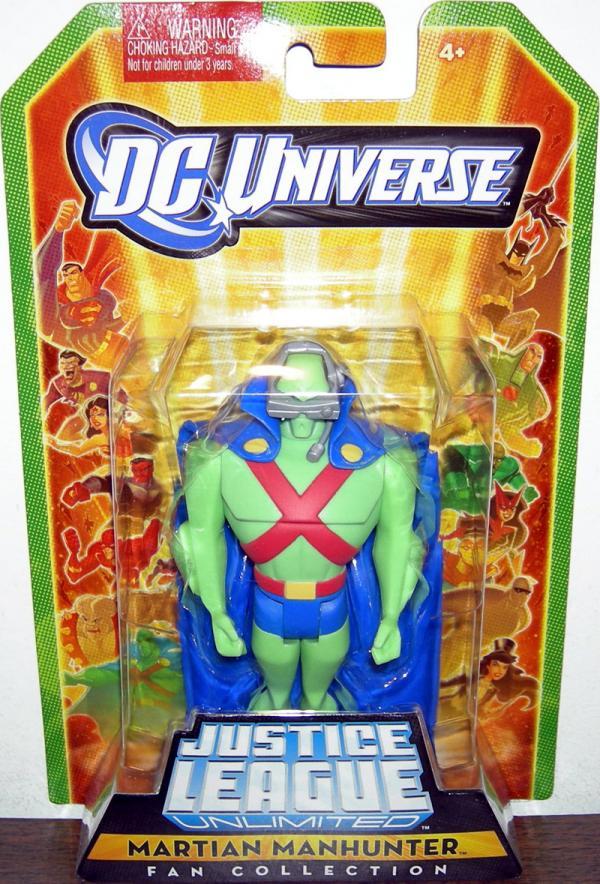 Martian Manhunter Fan Collection action figure