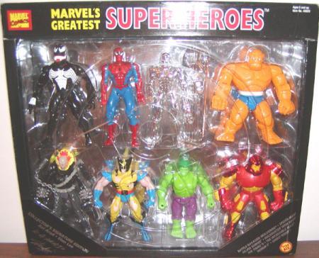 Marvels Greatest Super Heroes 8-Pack