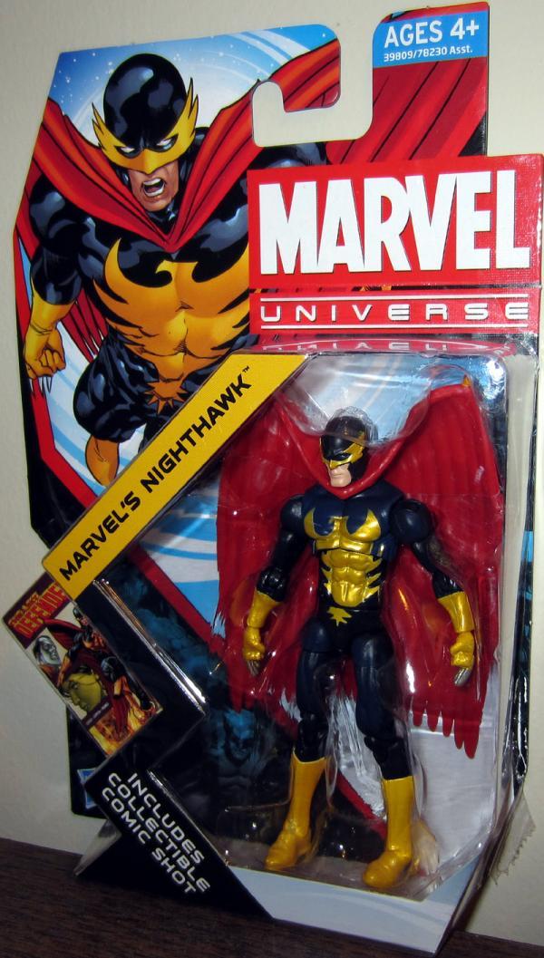 Marvels Nighthawk Marvel Universe series 4 018 action figure