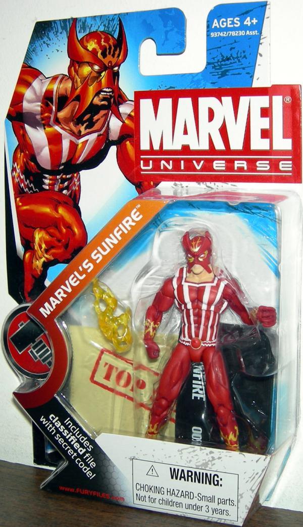 Marvels Sunfire Marvel Universe Series 2 005 action figure