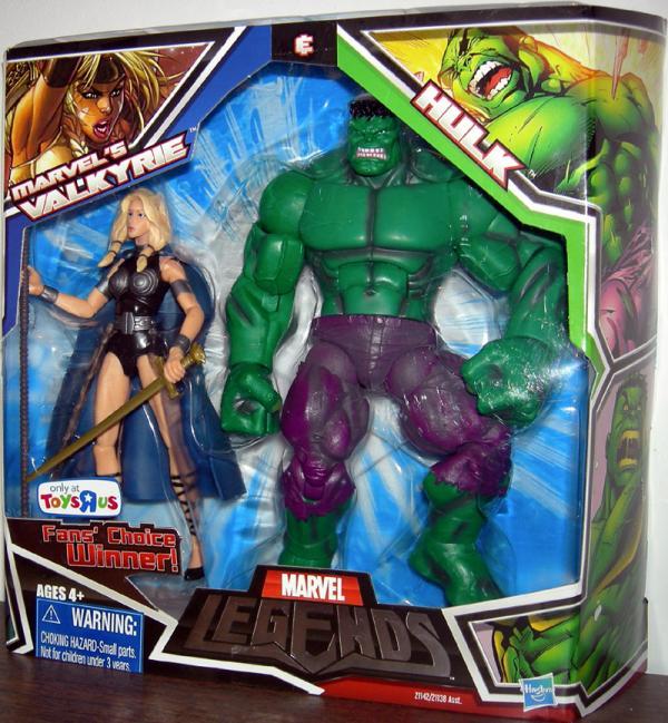 Marvels Valkyrie Hulk Marvel Legends