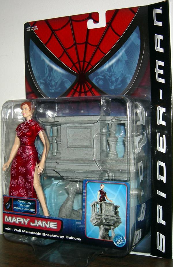 Mary Jane Action Figure Spider-Man Movie Toy Biz