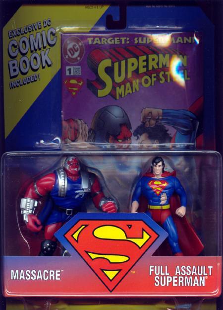 Massacre vs Full Assault Superman 2-Pack
