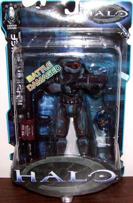 Battle Damaged Master Chief Limited Edition, cobalt