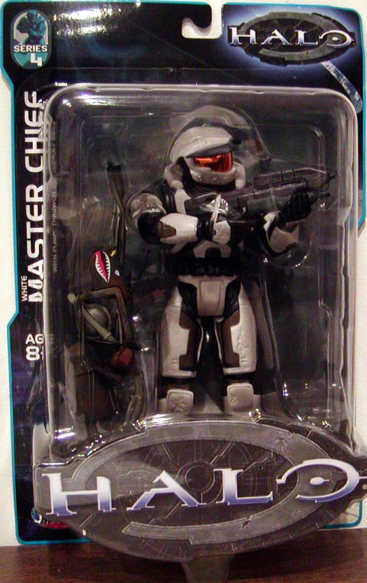 White Master Chief Halo Series 4 action figure
