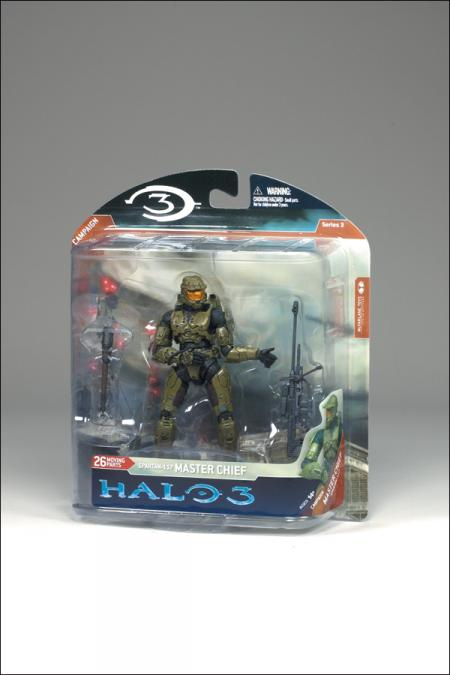 Master Chief Halo 3, series 3, Campaign