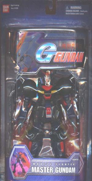 Master Gundam 7 1-2 inch