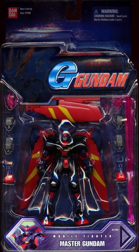 Master Gundam Hyper Mode Action Figure Mobile Suit