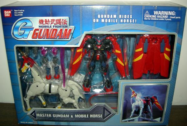 Master Gundam Mobile Horse