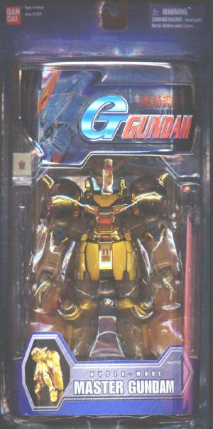 Master Gundam 7 1-2 inch Hyper Mode