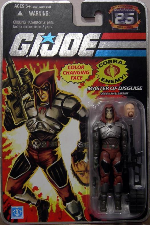 Master Disguise Code Name- Zartan