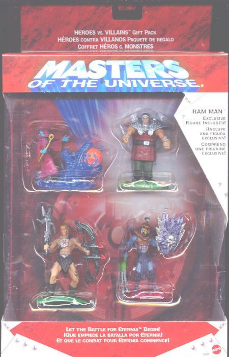 Masters Universe Mini 4-Pack Ram Man