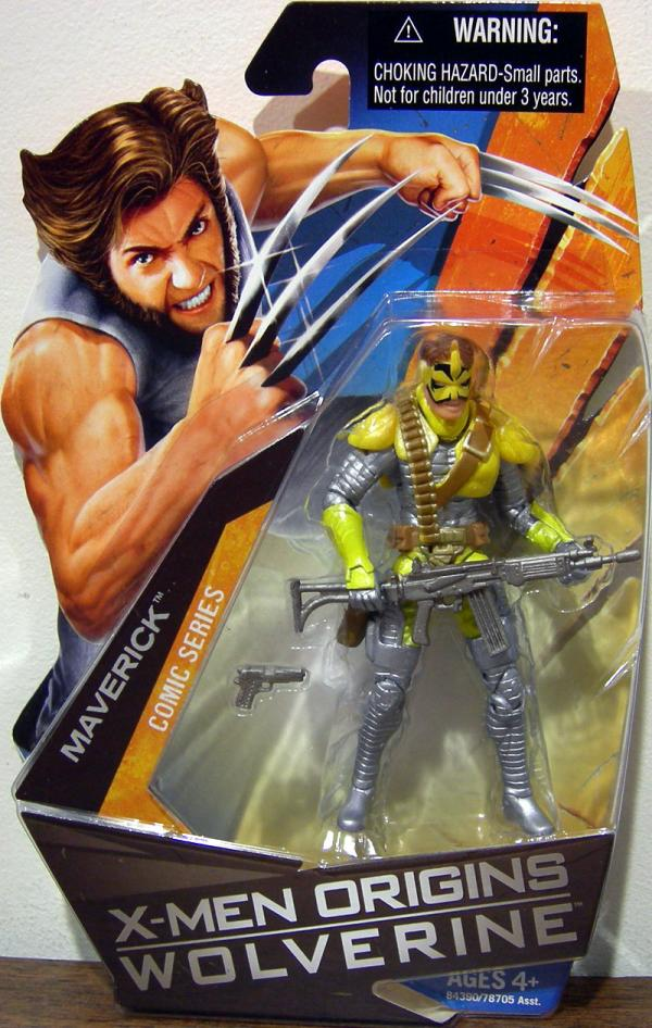 Maverick X-Men Origins Comic Series Action Figure Hasbro