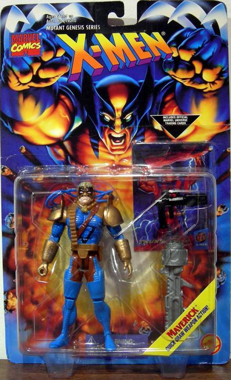 Maverick Figure X-Men Mutant Genesis Series Toy Biz