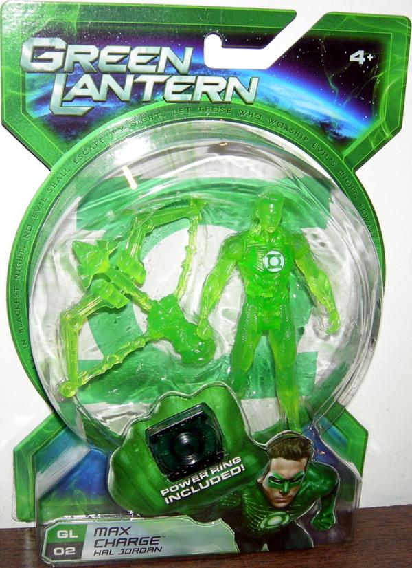 Max Charge Hal Jordan GL 02 Green Lantern Movie action figure