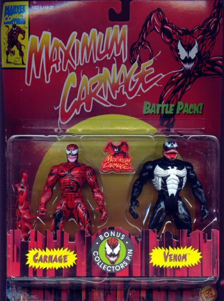 Maximum Carnage vs Venom 2-Pack