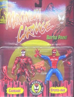 Maximum Carnage vs Spider-Man