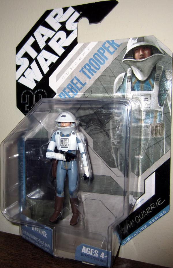 McQuarrie Concept Rebel Trooper Star Wars action figure